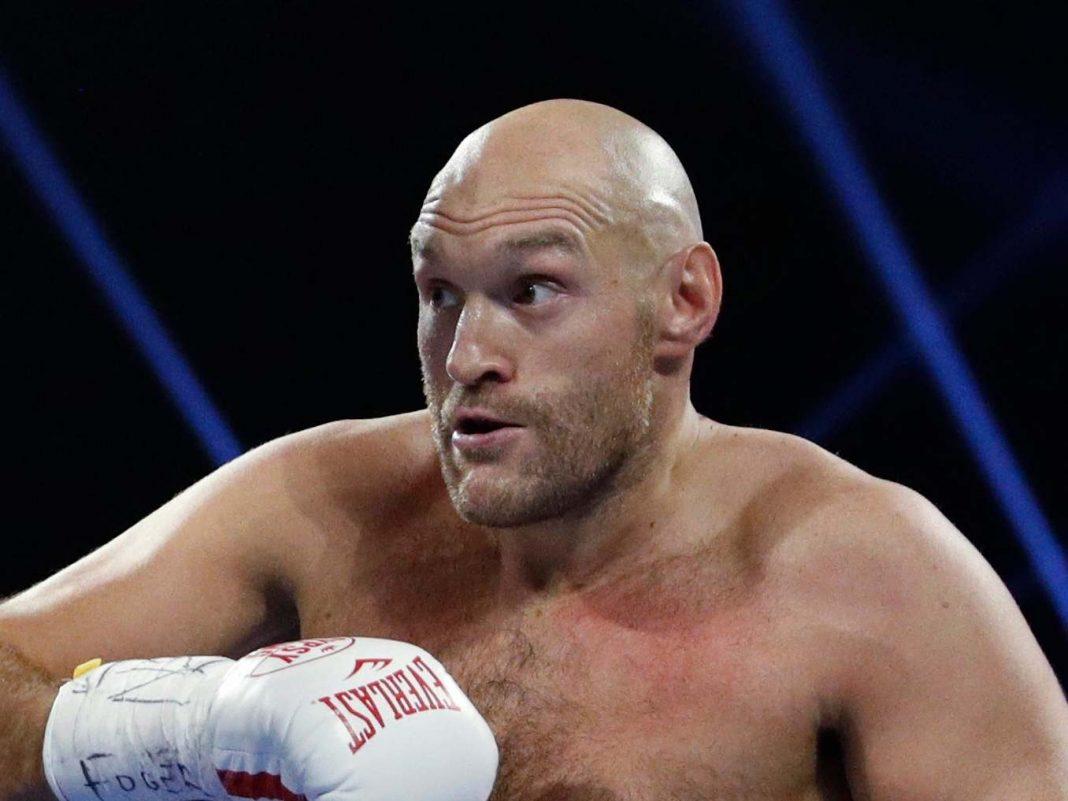 Tyson Fury đứng đầu trong top bình chọn củaSky Sports.