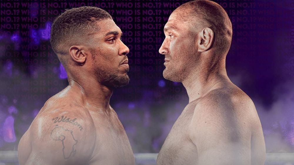 Tyson Fury đấu Anthony Joshua vào năm 2021.