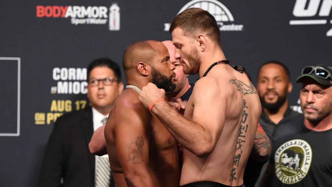 Stipe Miocic vàDaniel Cormier sẽ có cuộc đối đầu lần thứ 3 tại UFC.