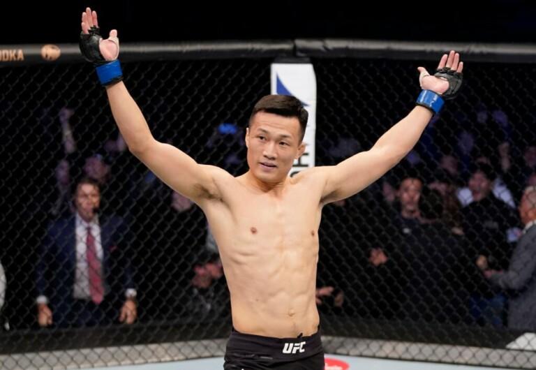 Zombie Hàn Quốc khát khao cơ hội vô địch UFC.