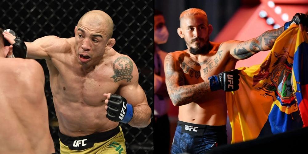 Huyền thoại Jose Aldo đấu Marlon Vera tại sự kiện chính UFC 255