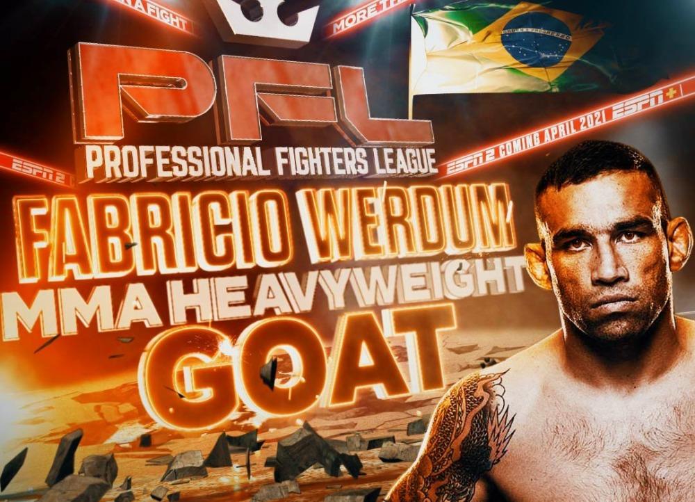 Cựu vô địch hạng nặng UFC gia nhập PFL