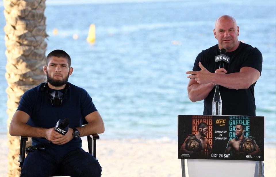Khabib Nurmagomedov sắp có cuộc đàm phán với Chủ tịch UFC Dana White.