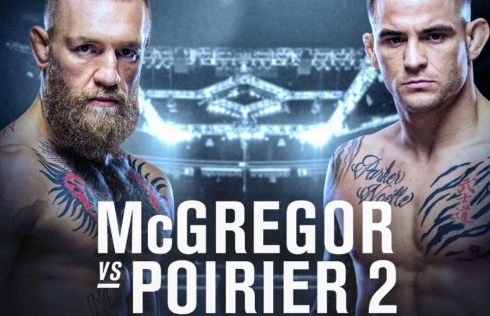 Conor McGregor tái đấu với Dustin Poirier tại UFC 257.