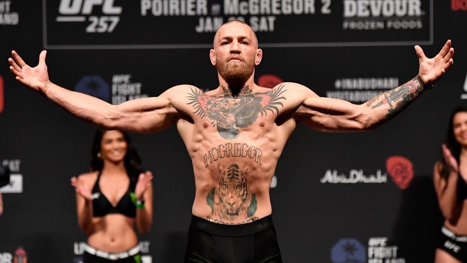 Conor McGregor vừa có nghĩa cử cao đẹp trước thềm UFC 257.