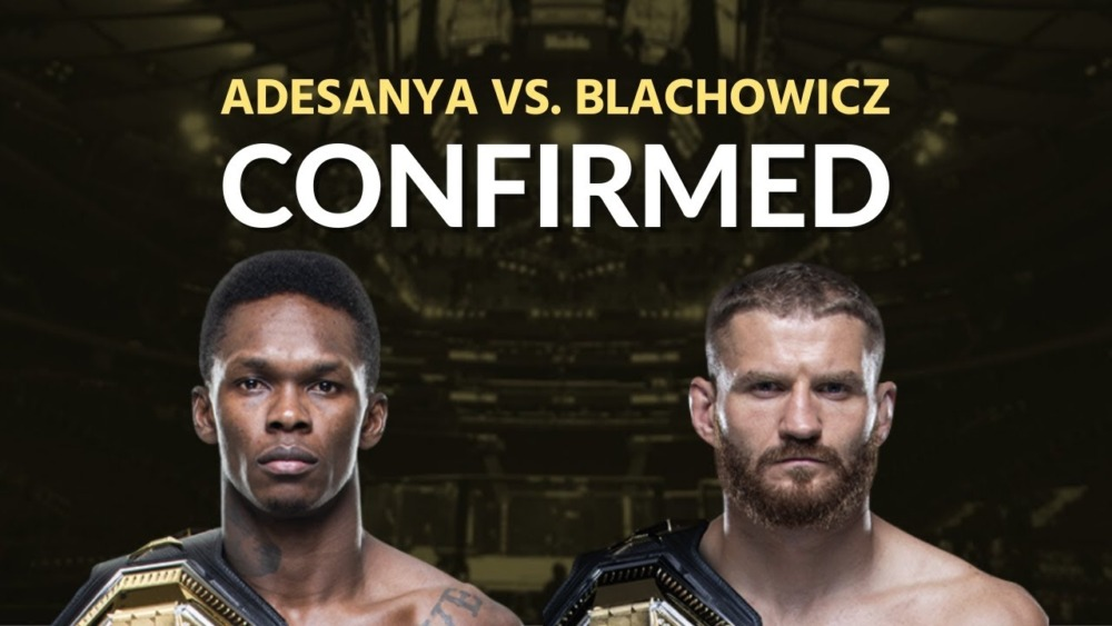 Israel Adesanya sẽ đấu với Jan Blachowicz tại UFC 259.