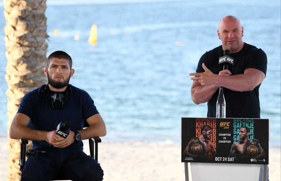 Khabib Nurmagomedov và Chủ tịch Dana White sẽ gặp nhau trên Đảo quyết đấu.