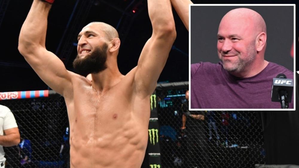 Khamzat Chimaev nhận nhiều lời có cánh từ Chủ tịch UFC Dana White.
