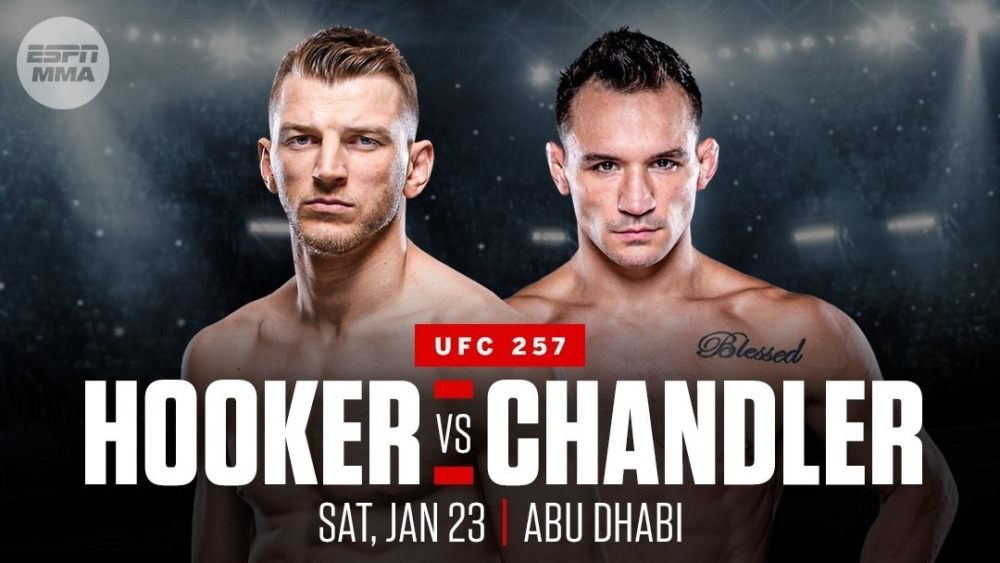 Michael Chandler và Dan Hooker sẽ đấu với nhau tại UFC 257.