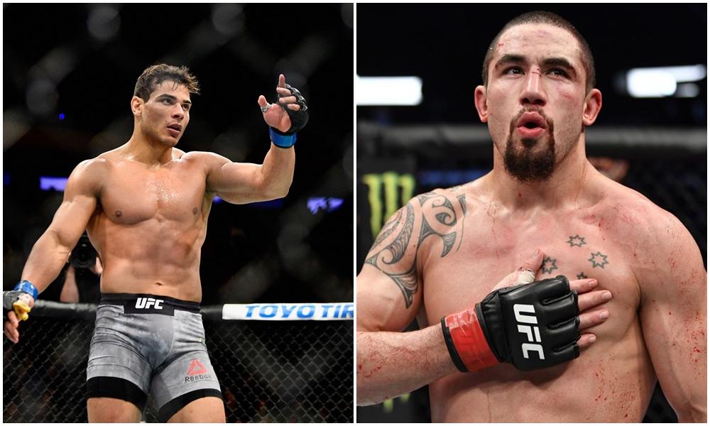 Wallid Ismail kêu gọi UFC sắp xếp 1 cuộc chiến giữa Paulo Costa và Robert Whittaker.
