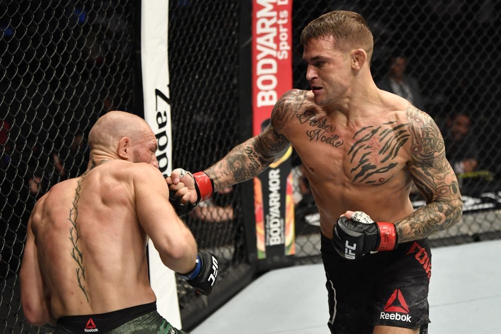 Conor McGregor thua Dustin Poirier tại UFC 257.