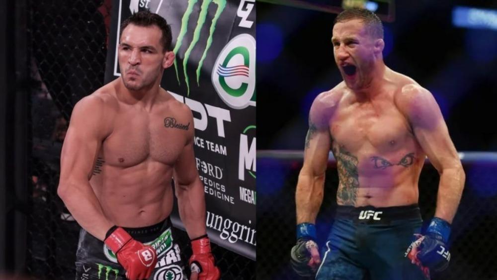 Michael Chandler có cơ hội tranh đai sau 1 trận ở UFC, Justin Gaethje lên tiếng