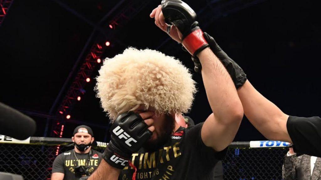 Khabib Nurmagomedov tuyên bố giải nghệ sau UFC 254.