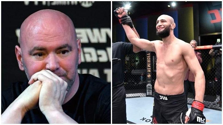 Chủ tịch UFC Dana White: Tôi không biết chuyện gì sẽ diễn ra với Khamzat Chimaev nữa