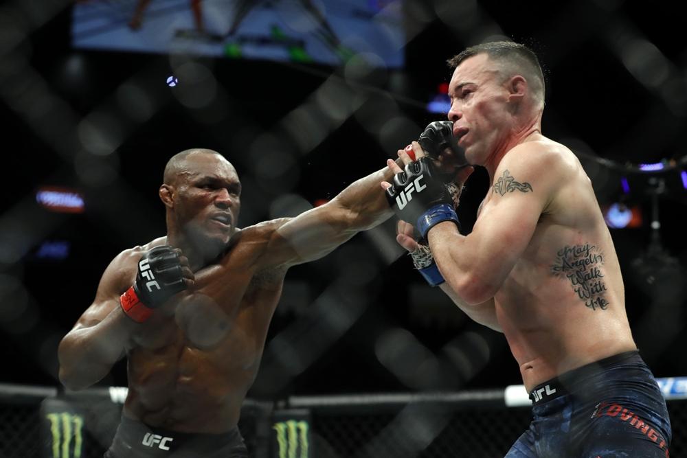 Kamaru Usman và Colby Covington từng gặp nhau trong lồng bát giác tại UFC 245.