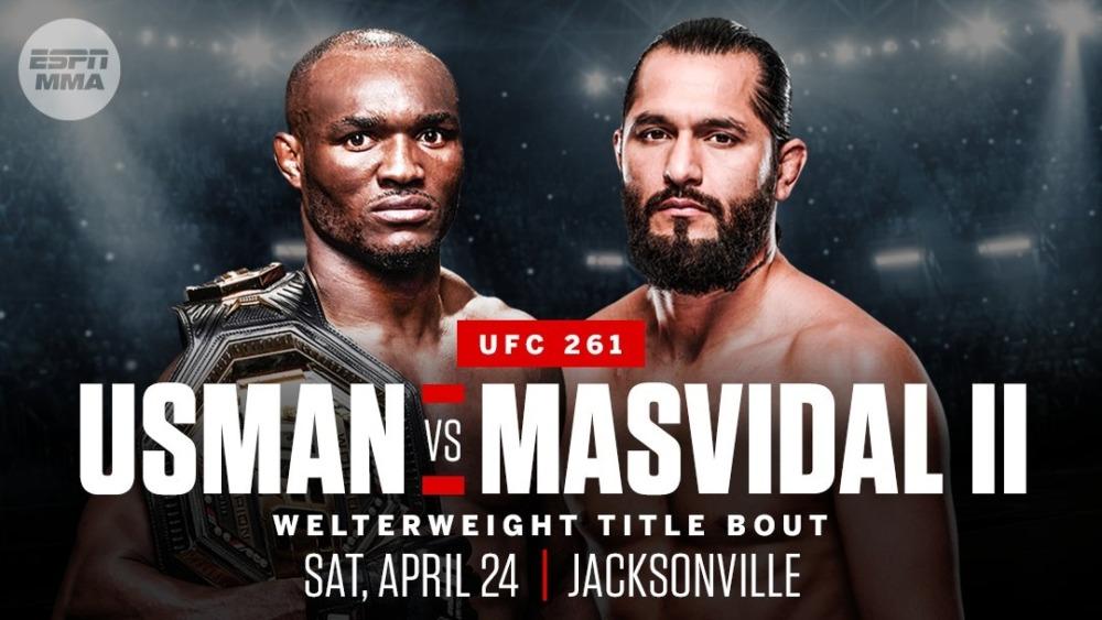Kamaru Usman sẽ tái đấu với Jorge Masvidal cuối tuần này.