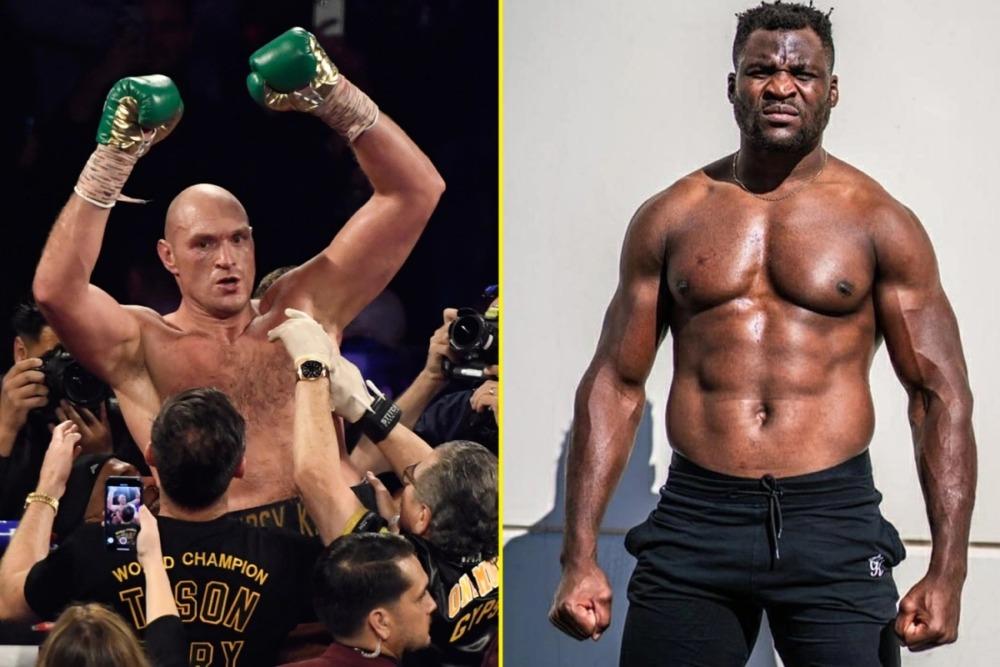 Francis Ngannou muốn đấu với Tyson Fury