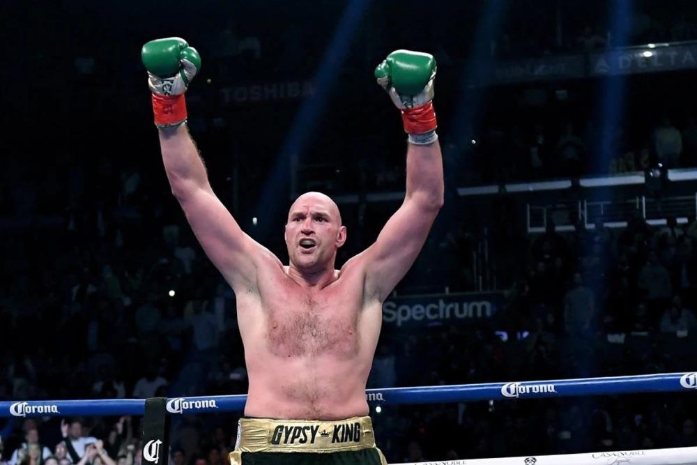 Tyson Fury, đối thủ mà Francis Ngannou muốn đối đầu trong một trận đấu quyền anh.