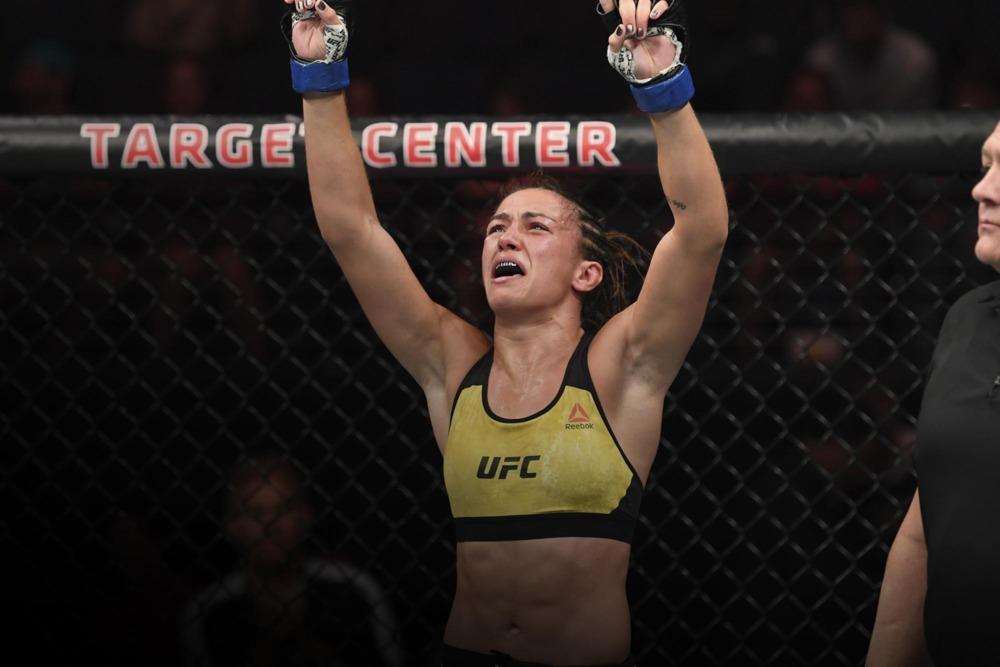 Amanda Ribas: Tôi đã khóc rất nhiều sau trận thua đầu tiên tại UFC
