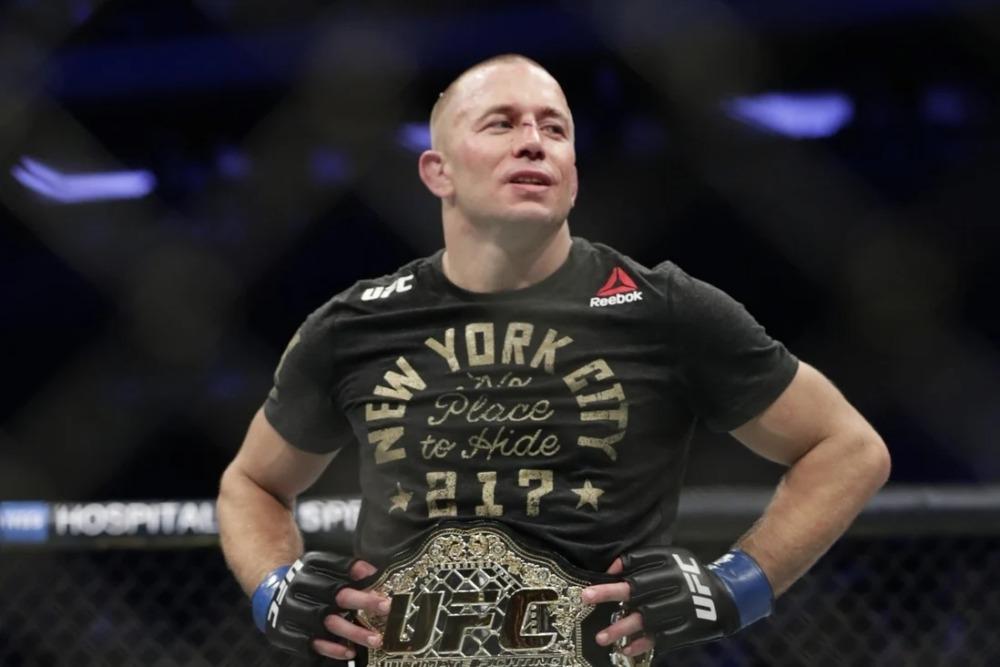 Georges St-Pierre là huyền thoại của làng MMA.