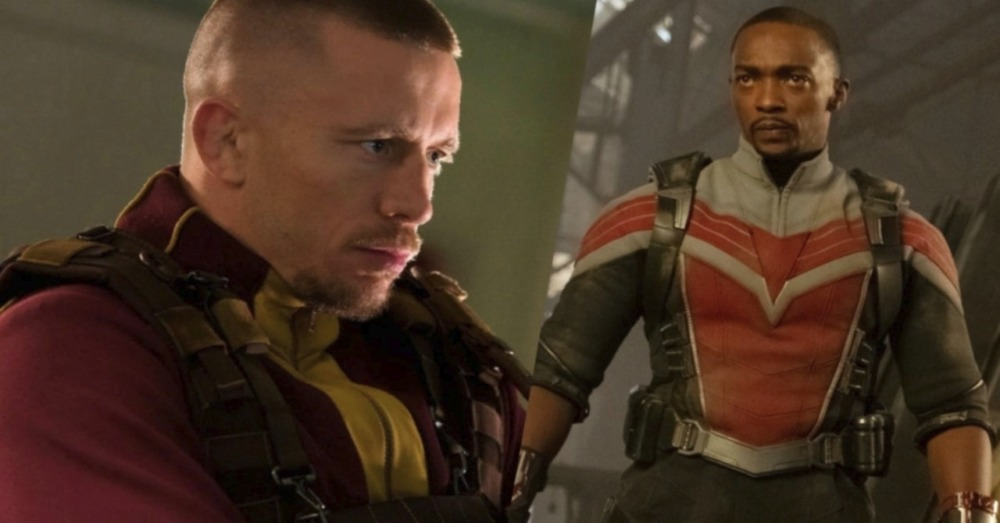 Anthony Mackie nhận một cú đấm thực sự của GSP trong Captain America: The Falcon and the Winter Soldier.