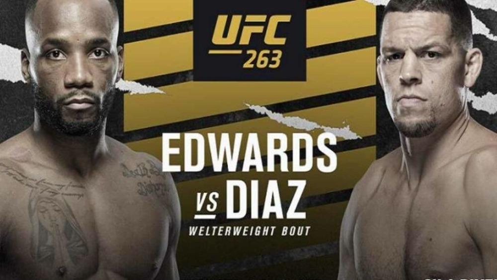 Nate Diaz và Leon Edwards đối đầu nhau tại UFC 263 cuối tuần này.