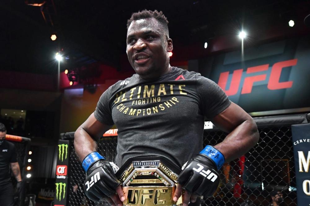 Francis Ngannou đang là nhà đương kim vô địch hạng nặng của UFC.