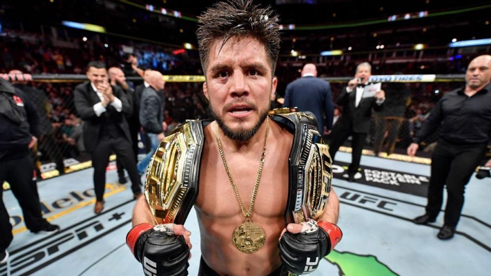 Nhà cựu vô địch 2 hạng cân UFC, Henry Cejudo.