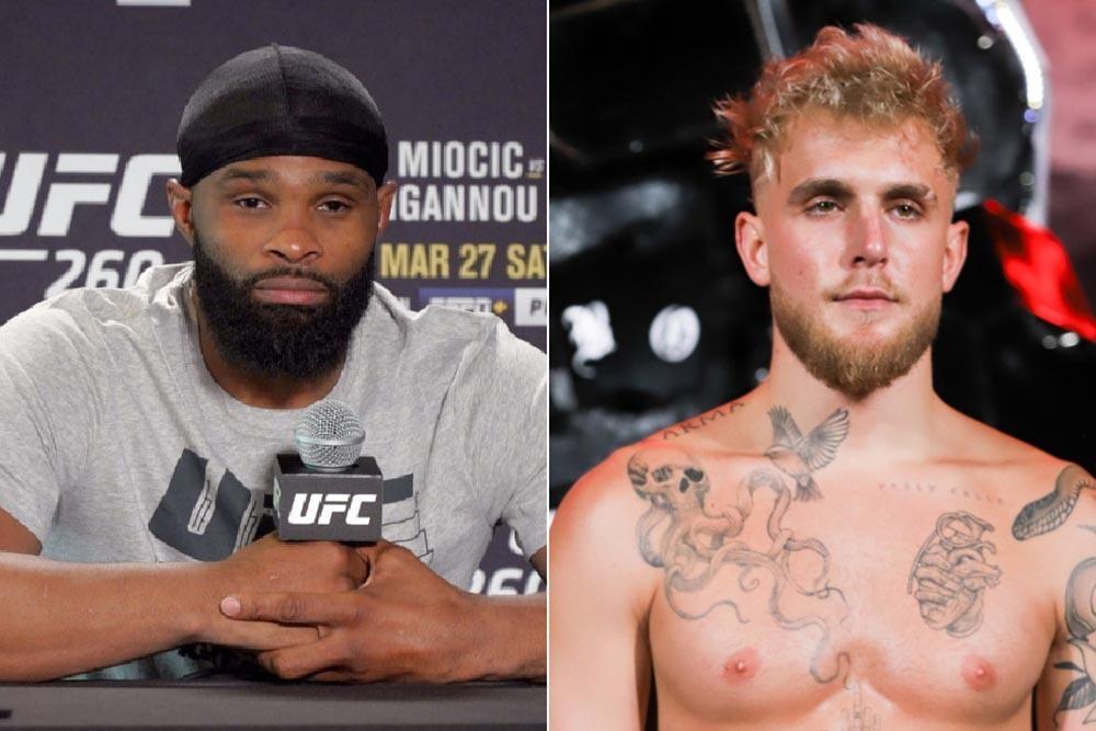 Colby Covington nói gì về màn so găng giữa cựu vương UFC Tyron Woodley và Jake Paul