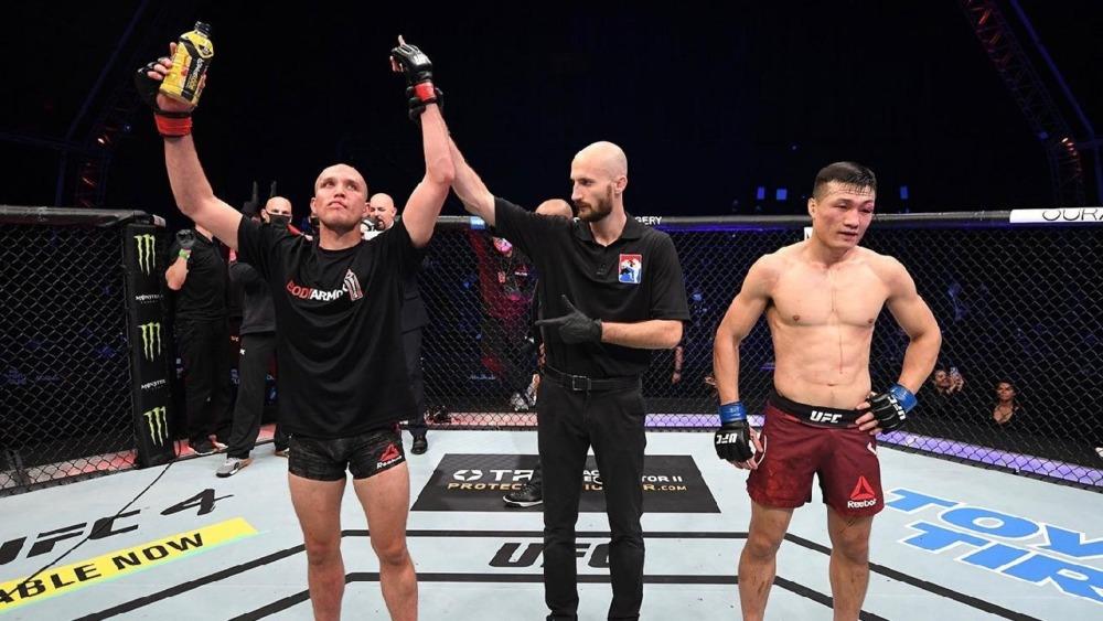 Chan Sung Jung nhận thất bại trước Brian Ortega hồi tháng 10 năm ngoái.