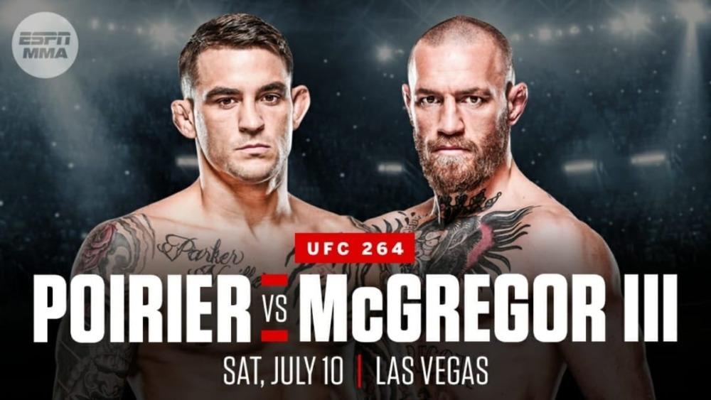 Conor McGregor sẽ đối đầu với Dustin Poirier tại UFC 264.