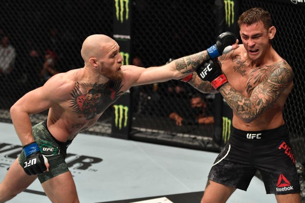 Conor McGregor nói Dustin Poirier đã đánh thức con quái thú sau trận đấu tại UFC 257.