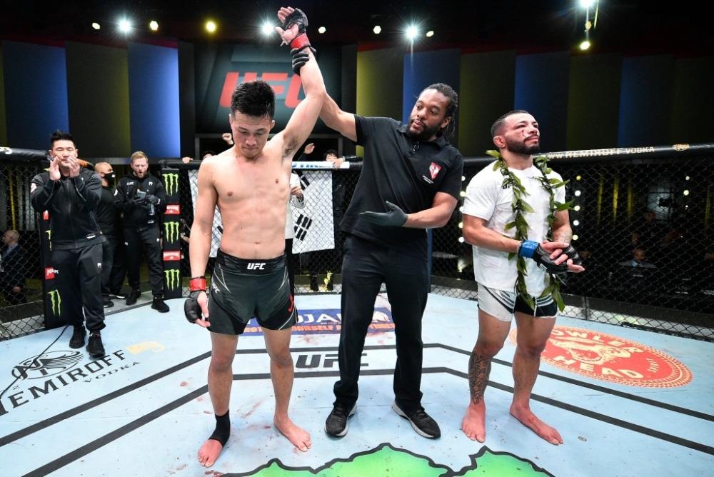 Dan Ige nhận thất bại trước Chan Sung Jung tại UFC cuối tuần qua.