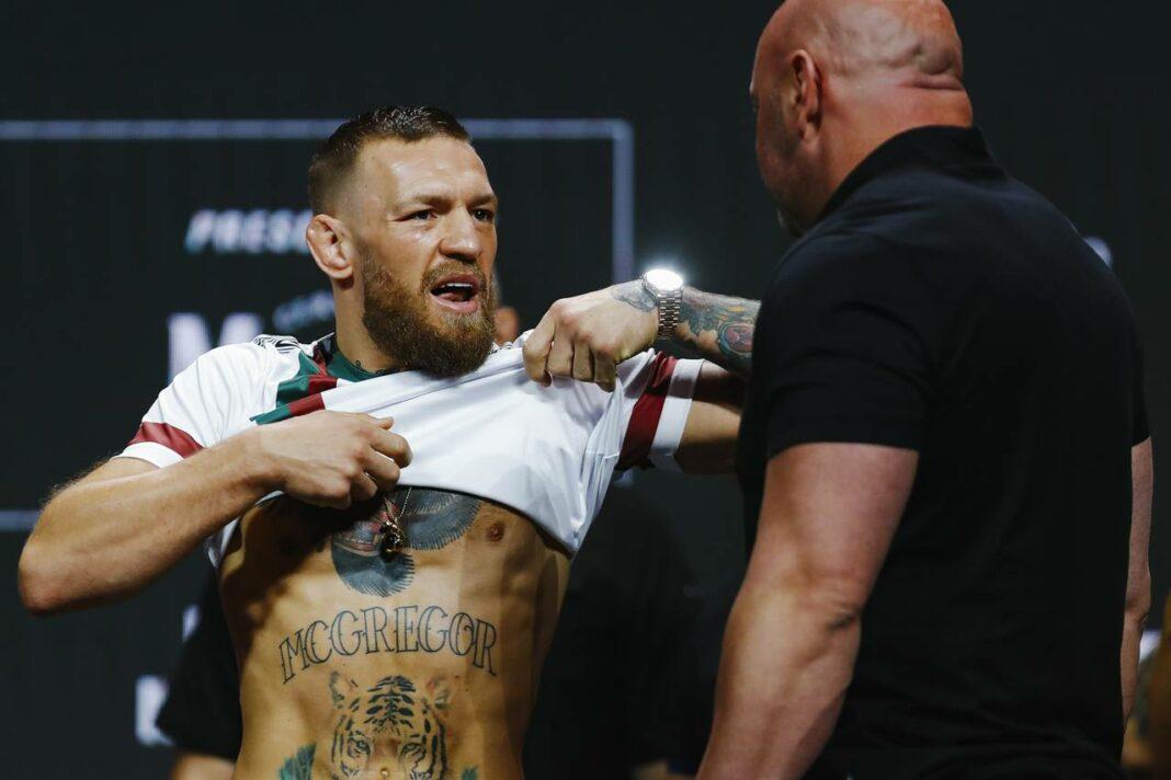 Dana White nổi giận với sự lựa chọn trang phục weigh-in của Conor McGregor