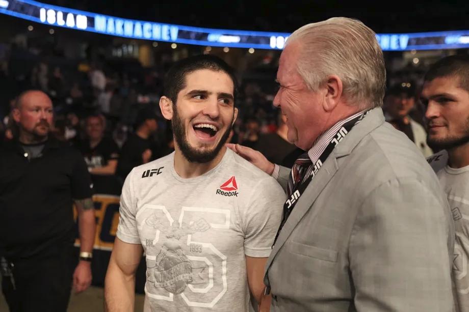 Islam Makhachev đang có chuỗi 8 chiến thắng liên tiếp tại UFC.