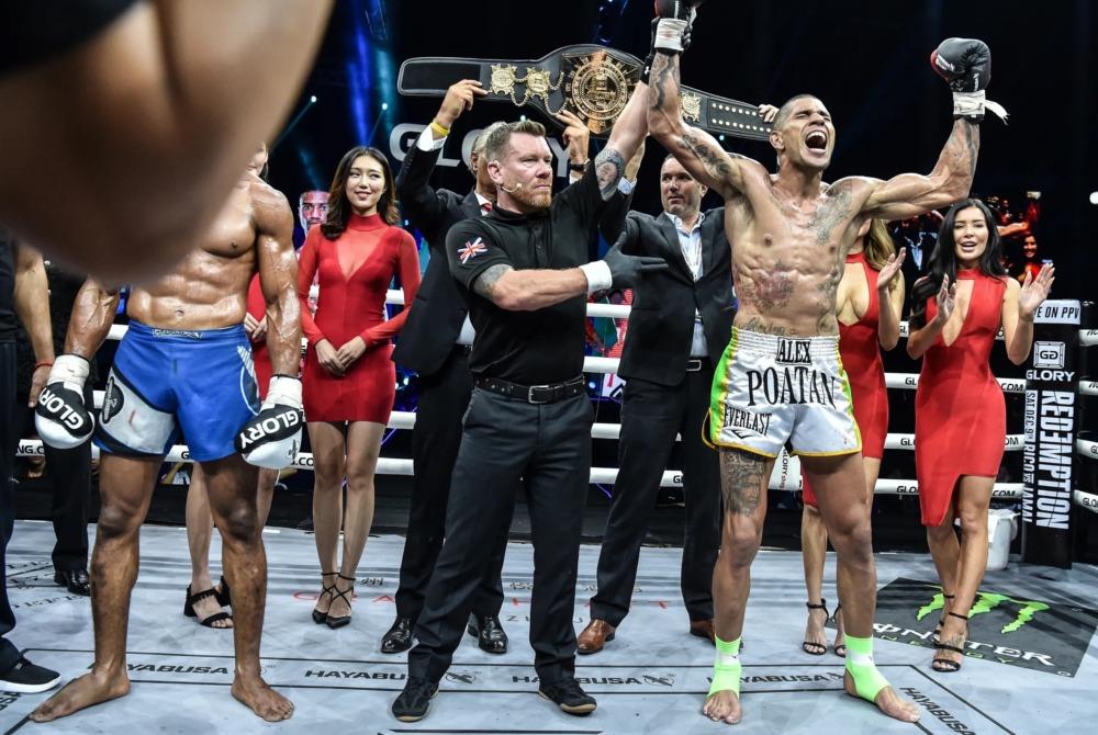 Alex Pereira gia nhập UFC sau khi trở thành nhà vô địch 2 hạng cân GLORY.