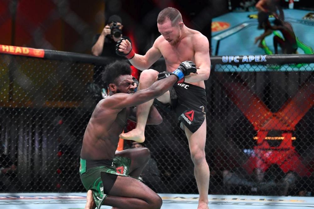 Petr Yan bị xử thua sau đòn đánh phạm quy với Aljamain Sterling tại UFC 259.
