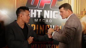 cung le vs michael bisping