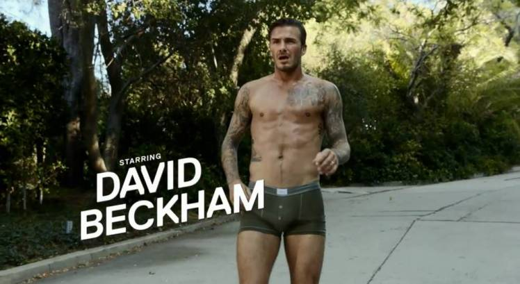 David Beckham, Footballer in a short film directed by Guy Ritchie for Paris-Saint Germain, new bodywear range.