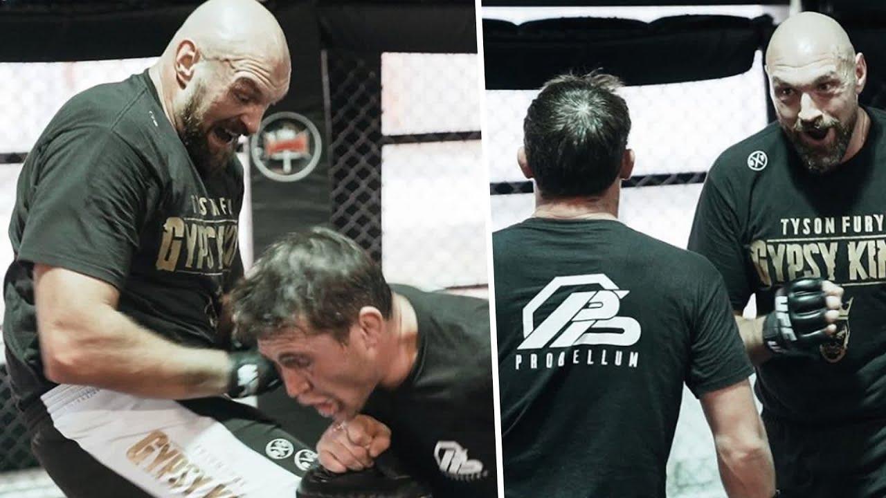 Tyson Fury từng tập luyện MMA cùng Darren Till.
