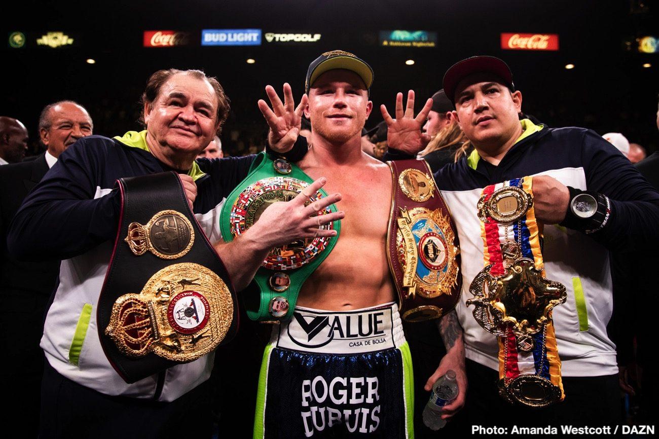 Canelo Alvareztừ bỏ chiếc đai vô địch WBO hạnglight-heavyweight.