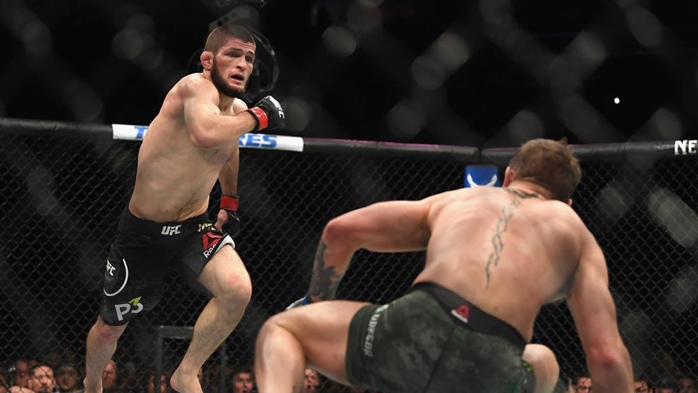 Khabib đánh bạiMcGregor ở sự kiện UFC229.