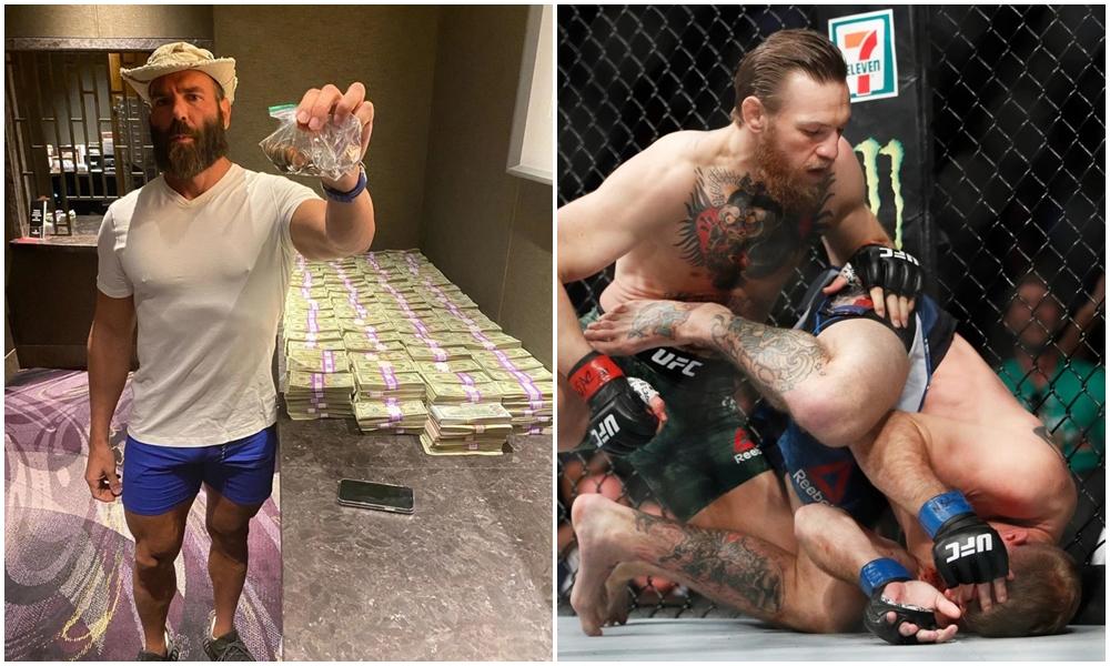McGregor thổi bay 700.000 bảng Anh chỉ sau 40 giây.