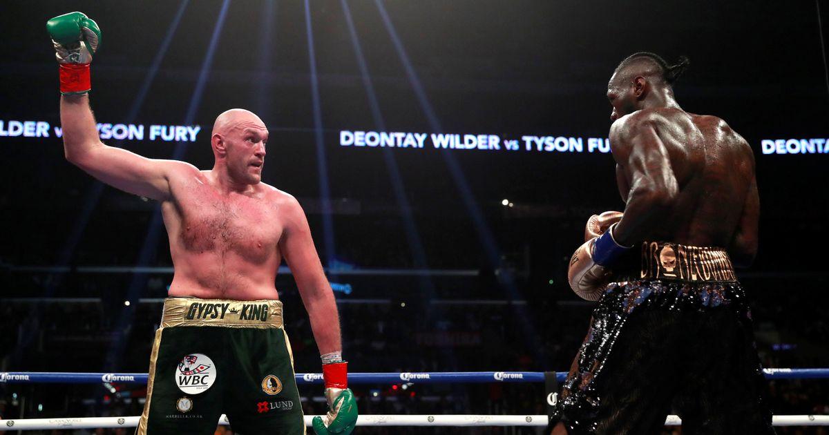 Tyson Fury chuẩn bị bước vào trận tái đấu vớiDeontay Wilder.