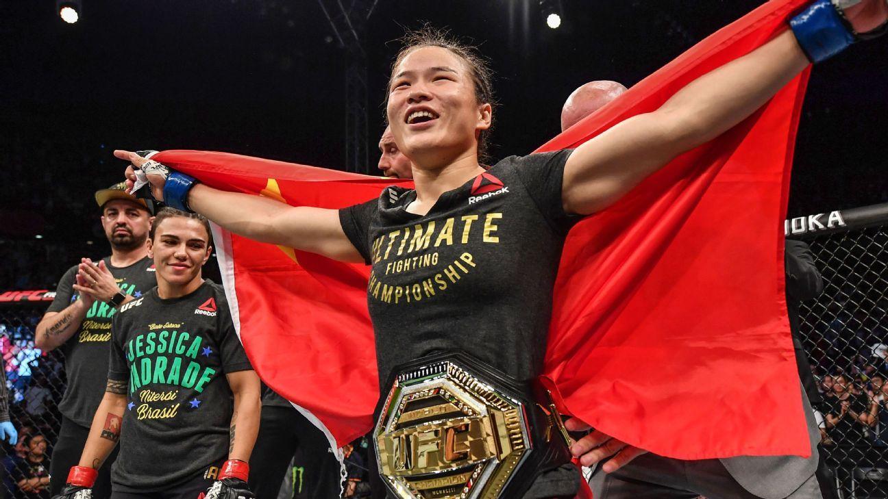 Weili Zhang đang là niềm tự hào của châu Á tại UFC