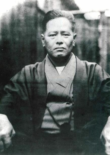 Người sáng lập hệ phái Goju-ryu của karate, Chojun Miyagi.