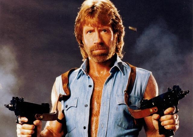 Chuck Norris, võ sư kiêm diễn viên người Mỹ.