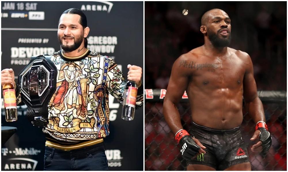 Jorge Masvidal (trái) nối bướcJon Jones than phiền về vấn đề thu nhập ở UFC.