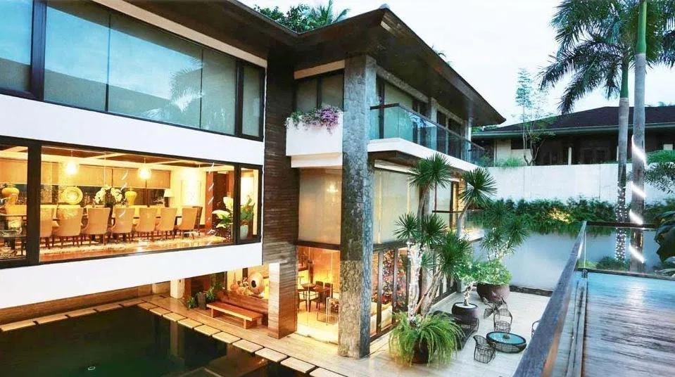 Manny Pacquiao sở hữu căn biệt thự này vào năm 2012.