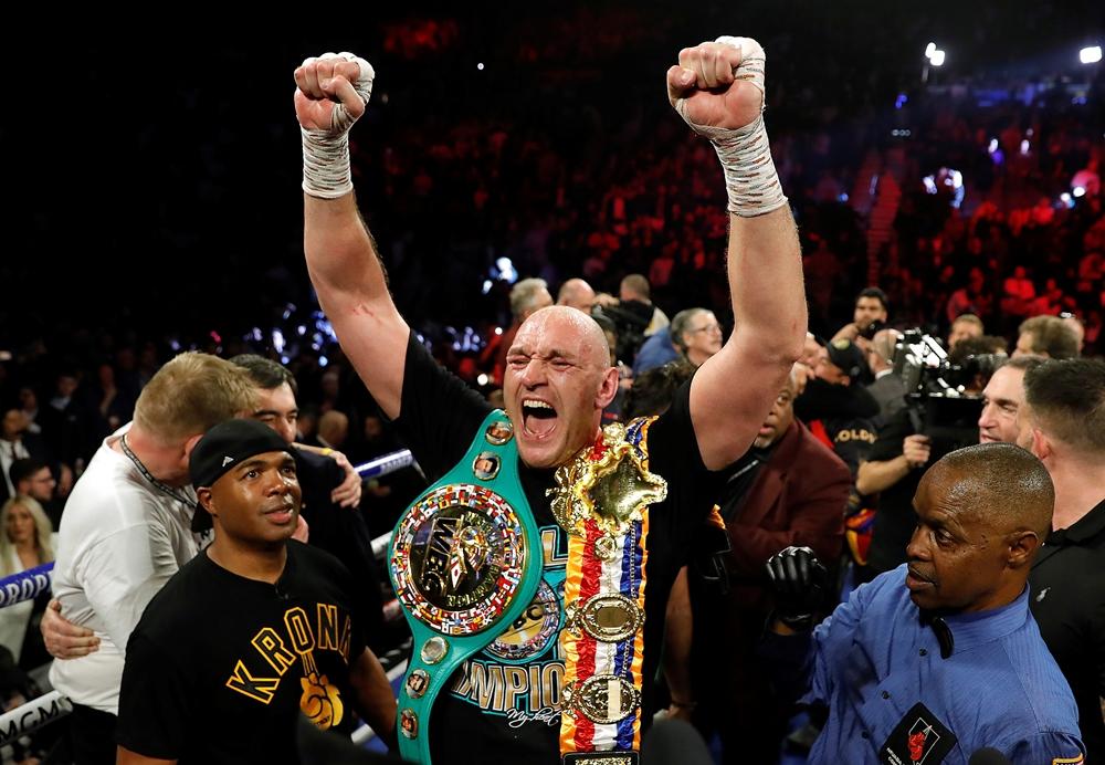 Tyson Fury đang là nhà vô địch WBC hạng cân nặng.